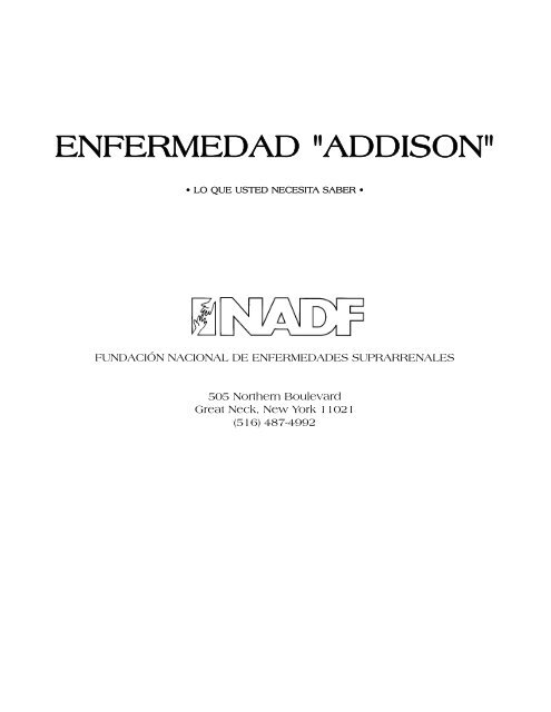 SPANISH ADDISON'S DISEASE THE F - National Adrenal Diseases ...