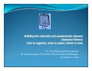 Download Building the culturally and academically ... - Erikson Institute