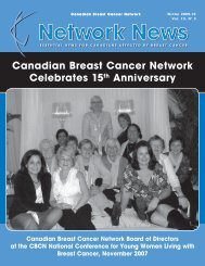 Network News - Winter 2009/2010 (PDF 3.7Mb - Canadian Breast ...
