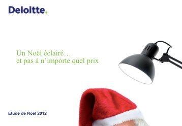 Un Noël éclairé… et pas à n'importe quel prix - Deloitte Recrute