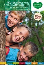 Schulprogramm - Naturpark Mürzer Oberland