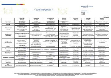 Speiseplan 9.-15.4.13 - Klinikum Darmstadt