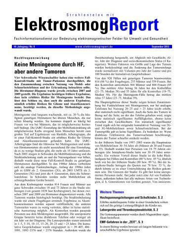 Zu den Originalseiten im pdf-Format - StrahlenTelex