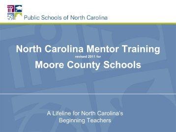 Module 1 Presentation - Moore County School System
