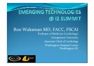 Ron Waksman MD, FACC, FSCAI - summitMD.com