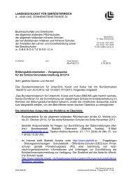 PDF-Dokument - Landesschulrat für Oberösterreich