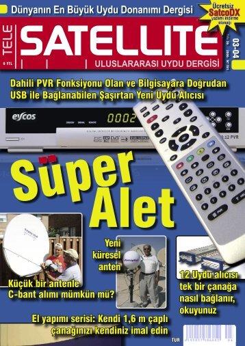 Dünyanın En Büyük Uydu Donanımı Dergisi - TELE-satellite ...