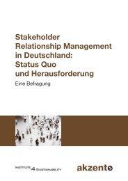 Stakeholder Relationship Management in Deutschland ... - future eV