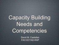 Castellan_Surveillance Capacity Building - Flutrop CIRAD Avian ...