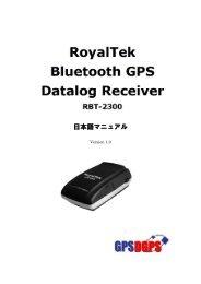 Data Log GPS Receiver - GPSDGPS