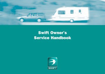 Swift Owner's Service Handbook - Swift Group