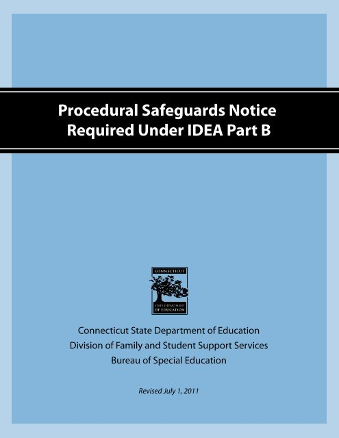 Procedural Safeguards Series Part Iv >> Procedural Safeguards In Special Education Farmington Public