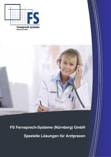 Telefonanlage für Arztpraxen - FS Fernsprech-Systeme (Nürnberg) GmbH