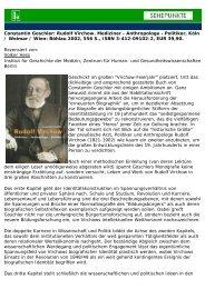 Constantin Goschler: Rudolf Virchow. Mediziner ... - Sehepunkte