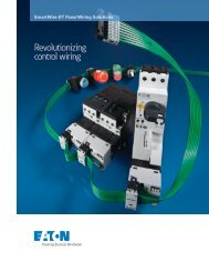 SmartWire-DT Panel Wiring Solutions - Eaton