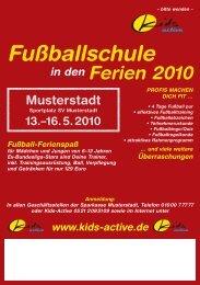 Flyer Anmeldung neutral.indd - kids - active