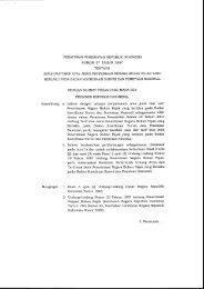 PP Nomor 57 Tahun 2007 Tentang Jenis & Tarif atas Jenis PNBP yg ...