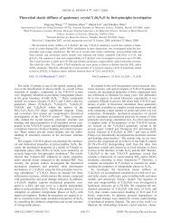 Phys. Rev. B 77, 104117 (2008): Theoretical elastic stiffness of ...