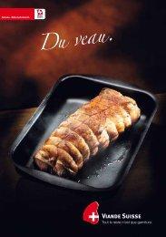 Brochure Â«Du veau - Schweizer Fleisch