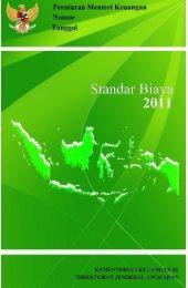 1. DAFTAR ISI 2011 - Direktorat Jenderal Anggaran Kementerian ...