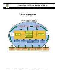 1. Mapa de Procesos - Facultad de Idiomas Ensenada - Universidad ...
