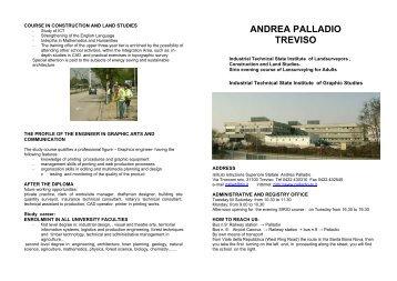 ANDREA PALLADIO TREVISO