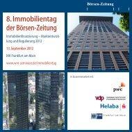 8. Immobilientag der Börsen-Zeitung - WM Seminare