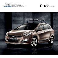 i30 tilbehør - Hyundai