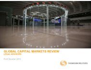 GLOBAL CAPITAL MARKETS REVIEW - LegalToday
