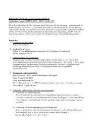 Referat af bestyrelsesmøde på Aabenraa Statsskole tirsdag den 19 ...