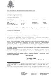 Inscription des ressortissants étrangers – Elections - Registre National