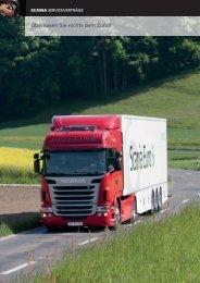 Überlassen Sie nichts dem Zufall - Scania