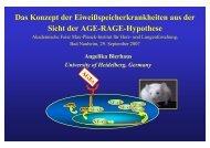 AGE-RAGE Hypothese - Prof-wendt.de