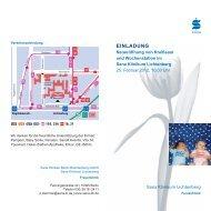 Plakat A3 Klinik 2 Bilder Veranstaltung - Sana Klinikum Lichtenberg