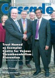 Trust Named as Exemplar Centre for Venous Thromboembolism ...