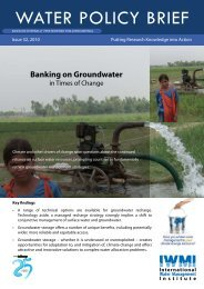 Banking on Groundwater in Times of Change (Water ... - Hydrology.nl