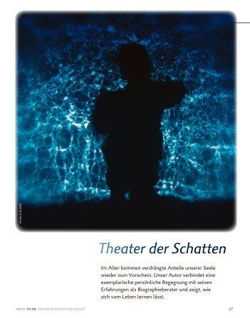 Theater der Schatten - Walter Seyffer