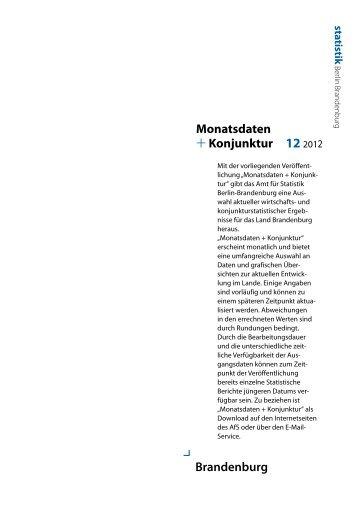 Monatsdaten +Konjunktur 12/2012 - Amt für Statistik Berlin ...