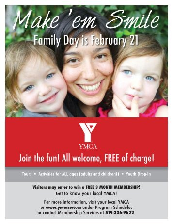 Family Day Poster and Handout_SL.indd - YMCAs