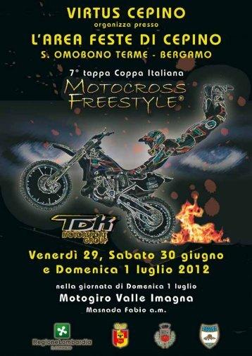 locandina e info freestyle motocross di Cepino di ... - Motowinners