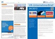 VR-UnternehmerBrief - Rottaler Volksbank-Raiffeisenbank eG