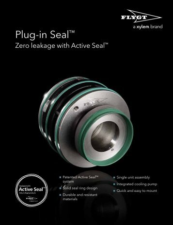 Flygt Plug-In Seal Flyer - Water Solutions
