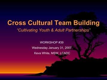 Cross-Cultural Team-Building (PDF)