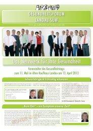 Das Netzwerk für Ihre Gesundheit - FIMAC Messe GmbH