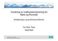 Vurdering av kraftsystemutredning for Møre og Romsdal - NVE