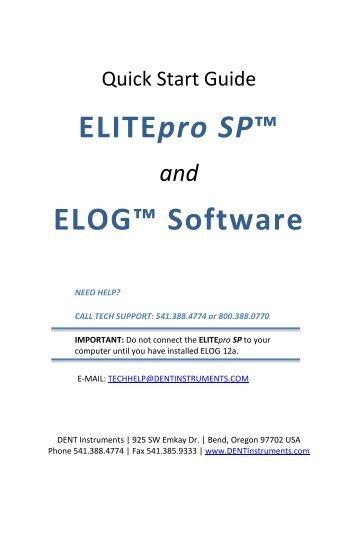 ESP_ELOG_12a_Quick_S.. - DENT Instruments