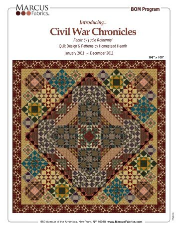 Introducing Civil War Chronicles