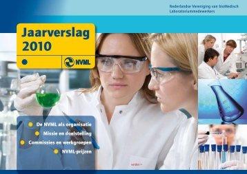 Jaarverslag 2010 - Nederlandse Vereniging van bioMedisch ...