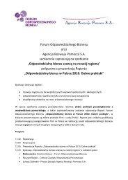 Odpowiedzialny biznes - Forum Odpowiedzialnego Biznesu