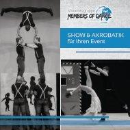 Show & Akrobatik für Ihren Event